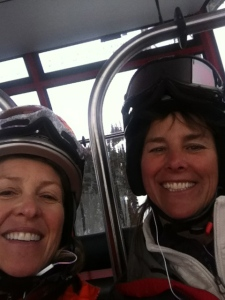 Pretty passionate about skiing as well. Peak to Peak Gondola with no one else but the two of us!