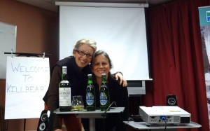Sharing laughter, single malt and a Steamwhistle with my most wonderful pal Gail!