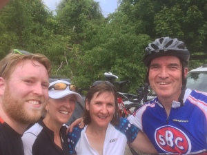 Post ride selfies!